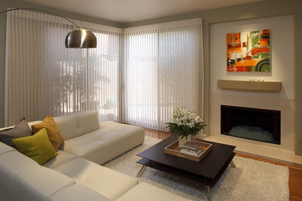 Contemporary Living Room by Mark Newman Design