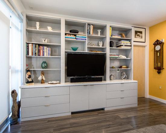 Living Room Media Center