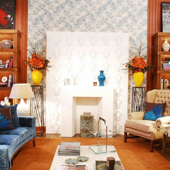 eclectic living room by Mehditash Design, LLC