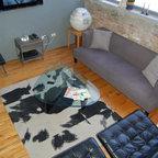 Nw 13th Avenue Loft Industrial Living Room Portland