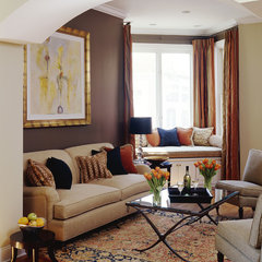contemporary living room by Molly McGinness Interior Design