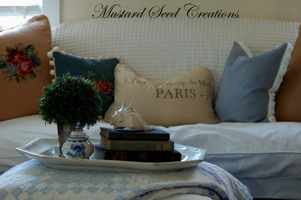 Eclectic Living Room by Mustard Seed Interiors