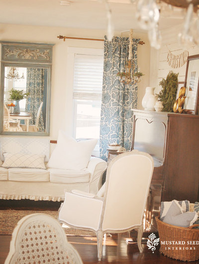 Skirted furniture style - Mustard seed interiors ...
