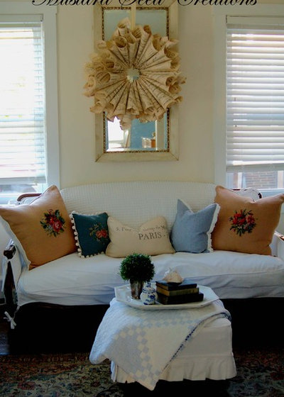 Harmonize your home with sheet music - Mustard seed interiors ...