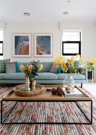 Contemporain Salon by My Beautiful Abode
