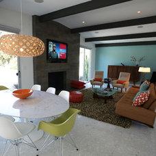 Modern Living Room by Natalie DiSalvo