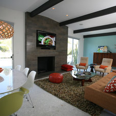 Modern Living Room by Natalie DiSalvo