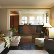 Contemporary Living Room by Nautilus Architects LLC