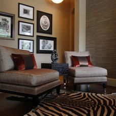 Midcentury Living Room by Sweetlake Interior Design LLC