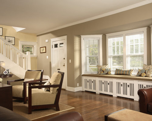 Save email - Charming home interior with various white window bench seating ...