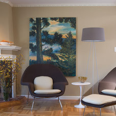 Contemporary Living Room by Northbrook Design