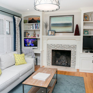 Living room office combination houzz - Living room office combination ...