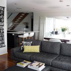 Modern Living Room by olive & joy