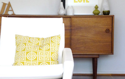 Citrus Hues Add Zest to Rooms