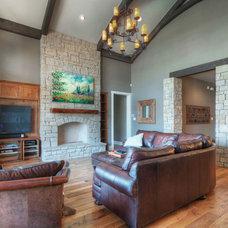 Traditional Living Room by Olson Defendorf Custom Homes