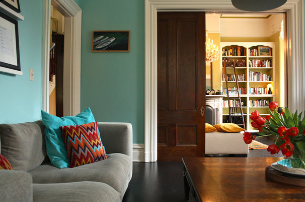 Eclectic Living Room by Shannon Malone
