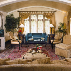 Traditional Living Room by Pat Manning-Hanson, ASID