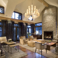 traditional living room by Paxton Lockwood