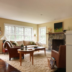 traditional living room by Peregrine Design Build