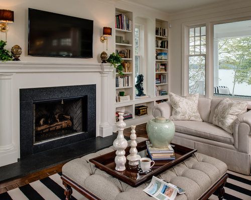 Sconces Over Fireplace Design Ideas Remodel Pictures Houzz