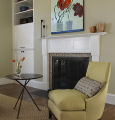 traditional living room by Rachel Reider Interiors