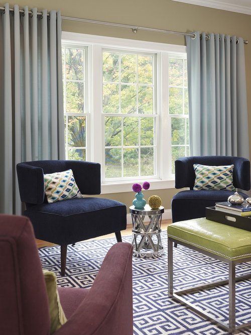 Living Room   Transitional Formal Carpeted Living Room Idea In Boston With  Beige Walls And No