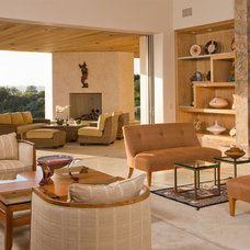 Southwestern Living Room by Alpha Design Group