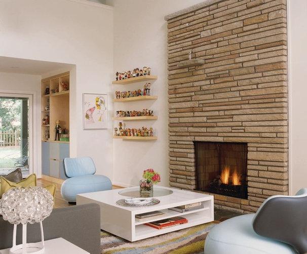Eclectic Living Room by Rariden Schumacher Mio & Co.