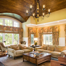 traditional living room by Carter Design Group, Inc.