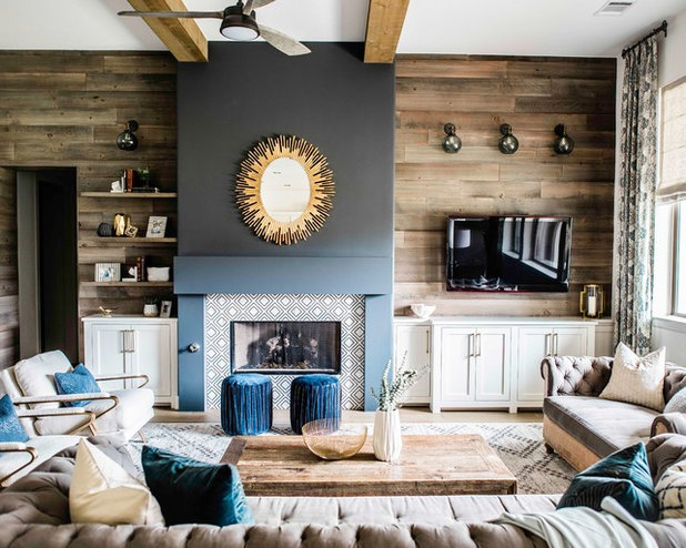 Contemporary Living Room by BANDD DESIGN