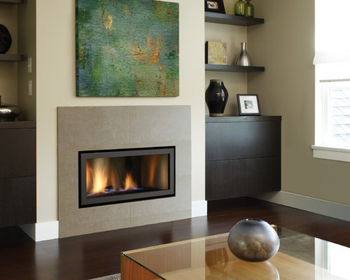 Modern Gas Fireplace | Houzz