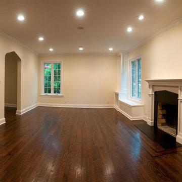 Living Room Remodel - Complete
