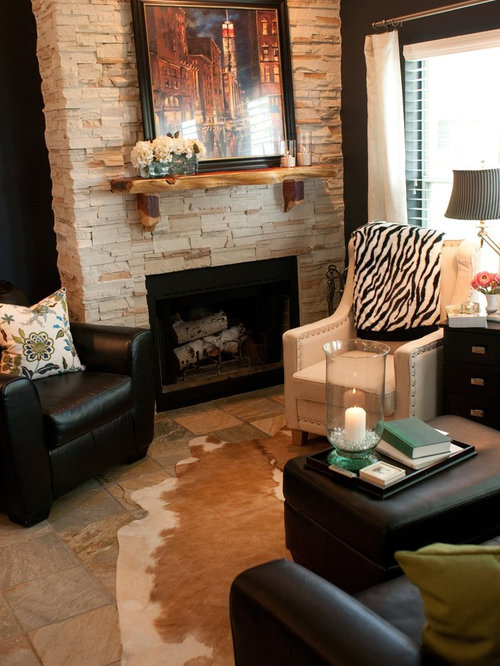 Rustic Living Room Design Ideas Remodels Photos With