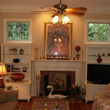 Traditional Living Room by Ivy League Construction