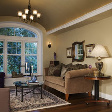 Eclectic Living Room by Margeaux Interiors - Margaret Skinner