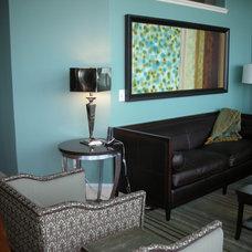 Modern Living Room by RSVP Design Services
