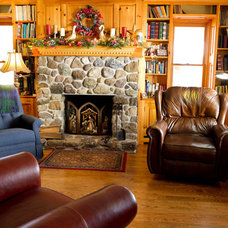 Rustic Living Room by Rikki Snyder
