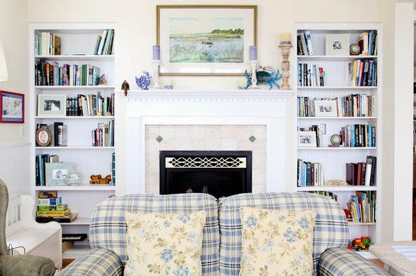 Beach Style Living Room by Rikki Snyder