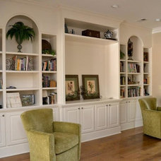 Traditional Living Room by Robbins Construction