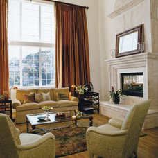 Traditional Living Room by Rossi Knapp Design