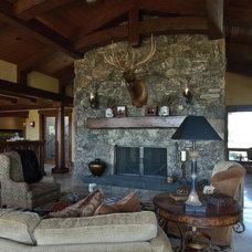 Traditional Living Room by Rozewski & Co., Designers, LLC