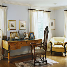 Traditional Living Room by Ruth Richards, Allied ASID