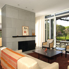 Contemporary Living Room by S+H Construction