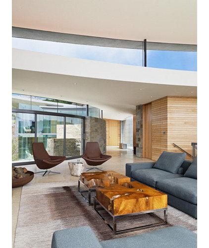 Contemporary Living Room by Sagan / Piechota Architecture