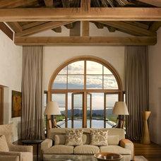 Contemporary Living Room by Saint Dizier Design