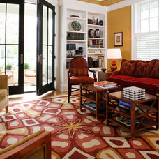 Eclectic Living Room by Sandy Spring Builders