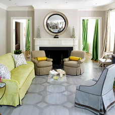 Contemporary Living Room by Sara Tuttle Interiors