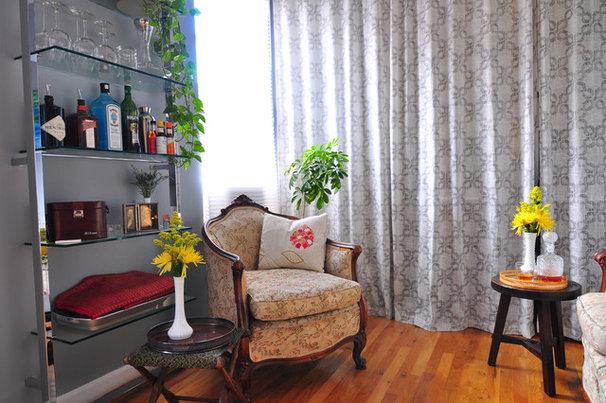 Eclectic Living Room by Scheer & Co.
