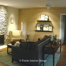 Contemporary Living Room by Fiorito Interior Design