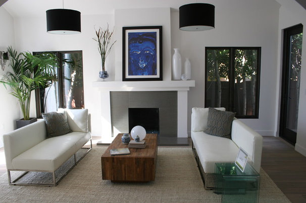 Contemporary Living Room by See Construction